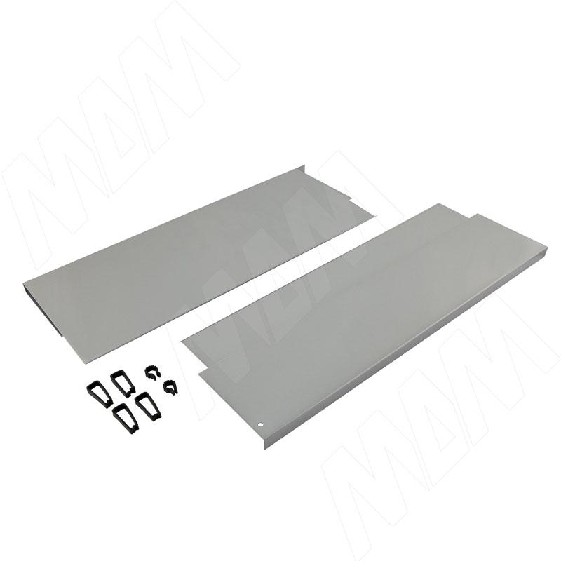 NOVA PRO DELUXE наращивание боковин Duowing 500 мм, серый металлик (F102117297)