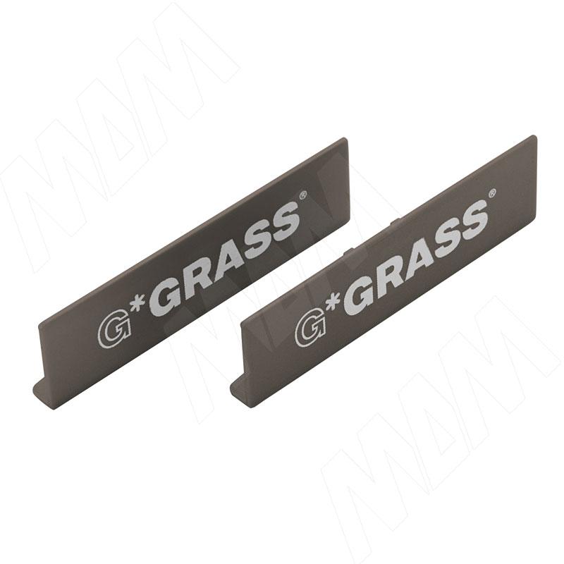 VIONARO Заглушка с логотипом GRASS, коричневый (F136118057)