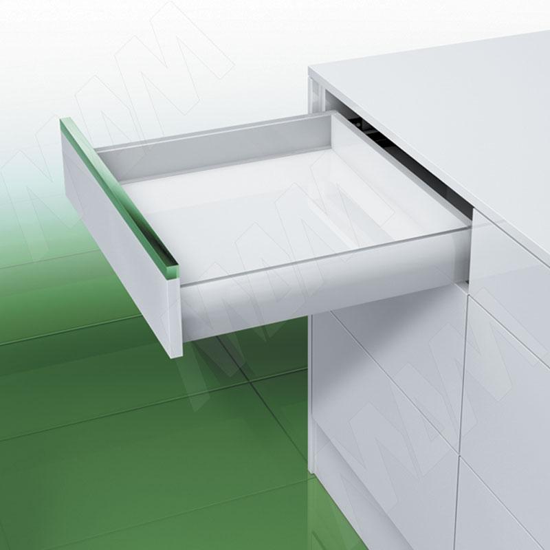 NOVA PRO DELUXE [S] Стандартный ящик без рейлингов, открывание от нажатия/плавное закрывание, 270 мм (NPS.S.040.270 TPSF (сер.мет)) недорого