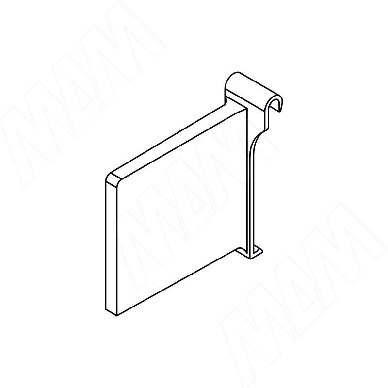 TRIOMAX поперечный разделитель, серый металлик (RLD.6600 D.GREY)