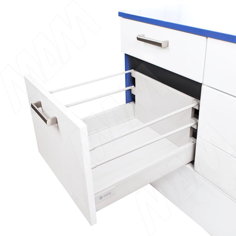 M-TECH стандартный ящик с двойным наращиванием, длина 450 мм, белый (STR.HSD.450W (белый))