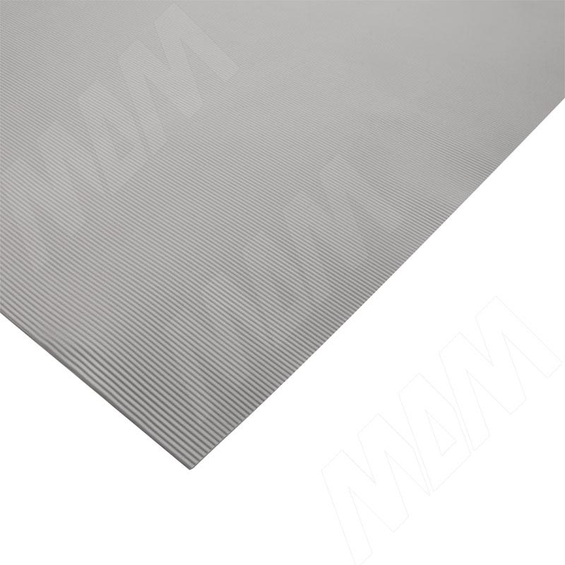 Покрытие для кухонных шкафов 480х1,2 мм, рифл., серый (TRBC GREY)