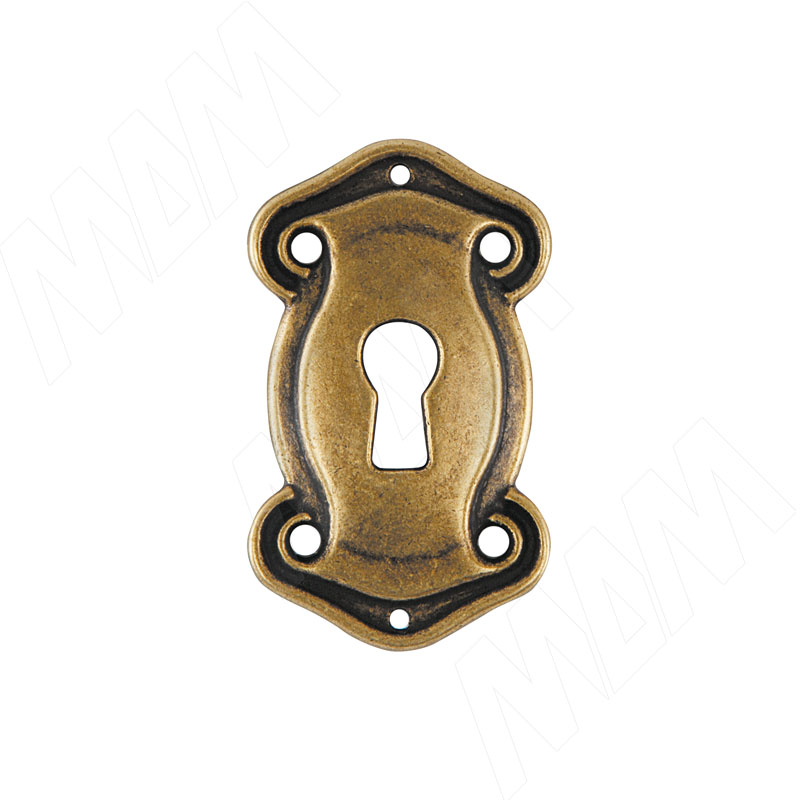 Накладка под ключ бронза состаренная (B3536000OV)