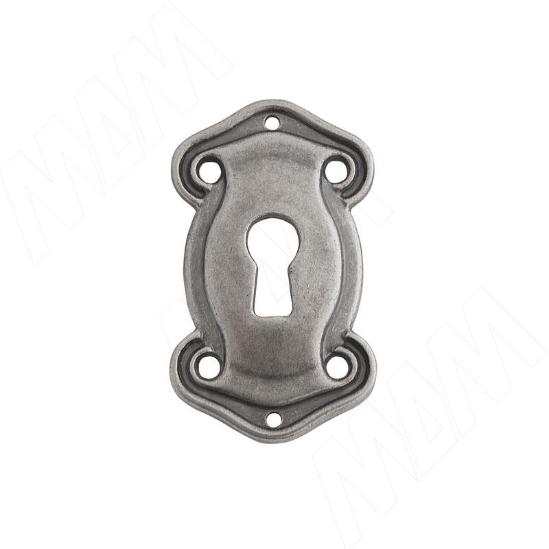 Накладка под ключ серебро состаренное (B3536000SFE)