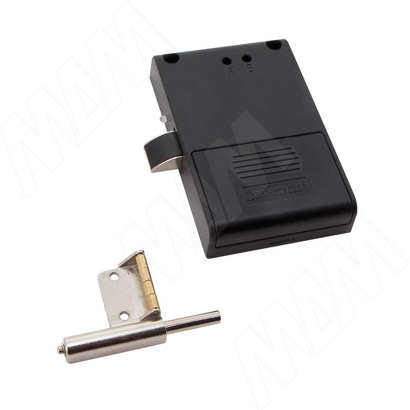 INVISIBLE Замок электронный RFID для 1-ой двери, выдвижной, частота 125 кГц (SDCW125BK)