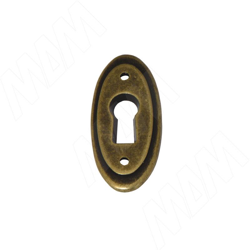 Накладка под ключ бронза состаренная (WBC.8037/SP.00D1)