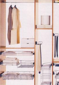 Внутреннее оснащение современного шкафа